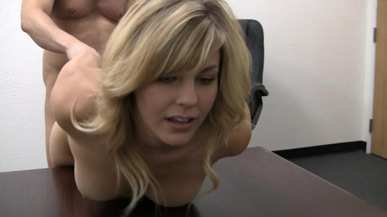 First Anal Casting Threesome