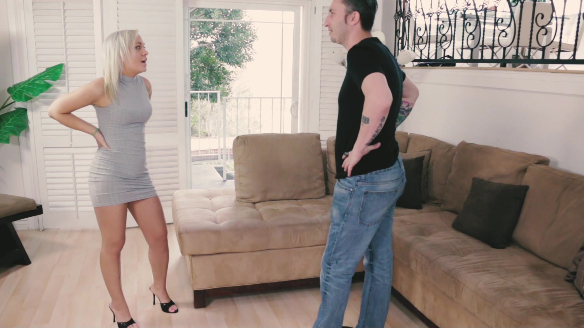 Slutty blonde Whitney Grace is into interracial groupsex with three guys  1968538
