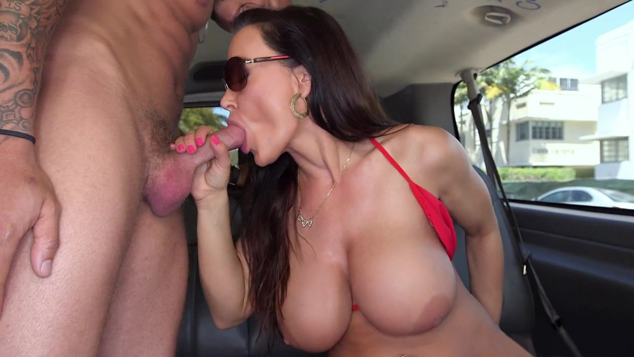 Amazing lisa ann is on our bus today